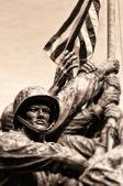 Marine Corps War Memorial — Stock Photo