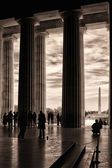 Inside the Lincoln Memorial — Stock Photo