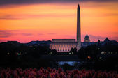 Il national mall — Foto Stock