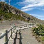 Irazu volcano crater — Stock Photo