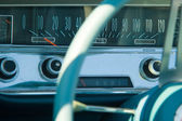 Details of vintage car — Stock Photo