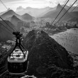 Overhead cable car — Stock Photo #30052383