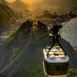 Overhead cable car — Stock Photo #30055793