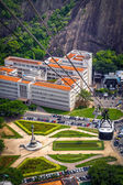 Cable car over Urca — Stock Photo