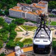 Stock Photo: Cable car over Urca