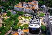 Cable car over Urca — Fotografia Stock