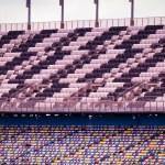 Постер, плакат: Stadium seats