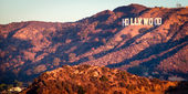 Hollywood Sign from Griffith Observatory — Stock Photo