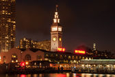 Clock tower of Ferry Building — Stock Photo