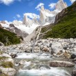 Stock Photo: River by moutains