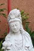 Close up Marble Quan Yin — Stock Photo