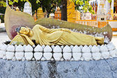 Old Reclining Buddha Statue — Stock Photo