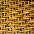 Wicker wood pattern background — Stock Photo