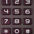 Stock Photo: Numeric Keypad