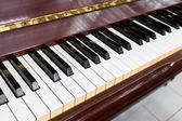 Piyano tuşu — Stok fotoğraf