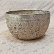 Old Silver Bowl — Stock Photo