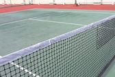 Closeup tennis net — Stock Photo
