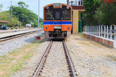 Train at Huahin Station, Thailand — Stock Photo