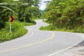 Křivka silnice — Stock fotografie