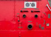 Antiguo vintage bomberos detalle — Foto de Stock