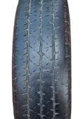 Použité auto pneumatiky closeup — Stock fotografie
