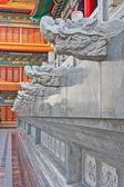 Couloir de temple chinois — Photo