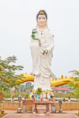 White Quan Yin pouring from her vast — Stock Photo