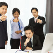 Asian businessman need you — Stock Photo