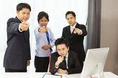 Asian businessman need you — Stock Photo