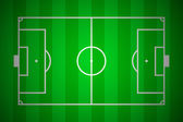 Soccer field layout — Stock fotografie