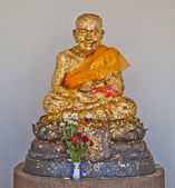 Monk statue, Luang Pu Thuad, Thailand — Stock Photo