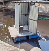 流动厕所 — 图库照片