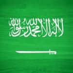 Saudi Arabia flag on wood texture — Stock Photo #45175145