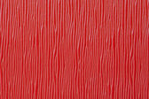 Red plastic plate background wood texture — Stock Photo