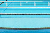 Swimming Pool and clearly marked lanes. — Stockfoto