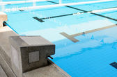 Swimming Pool with stair. — Stock Photo