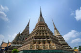 Authentic Thai Architecture in Wat Pho — 图库照片