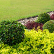 Stock Photo: Landscaped Formal Garden.