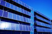 Zonnepaneel en hernieuwbare energie — Stockfoto