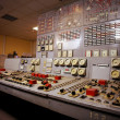 Control room of an old power generation plant — Stock Photo #50104867