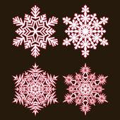 Decorative abstract snowflake. — Stock Vector