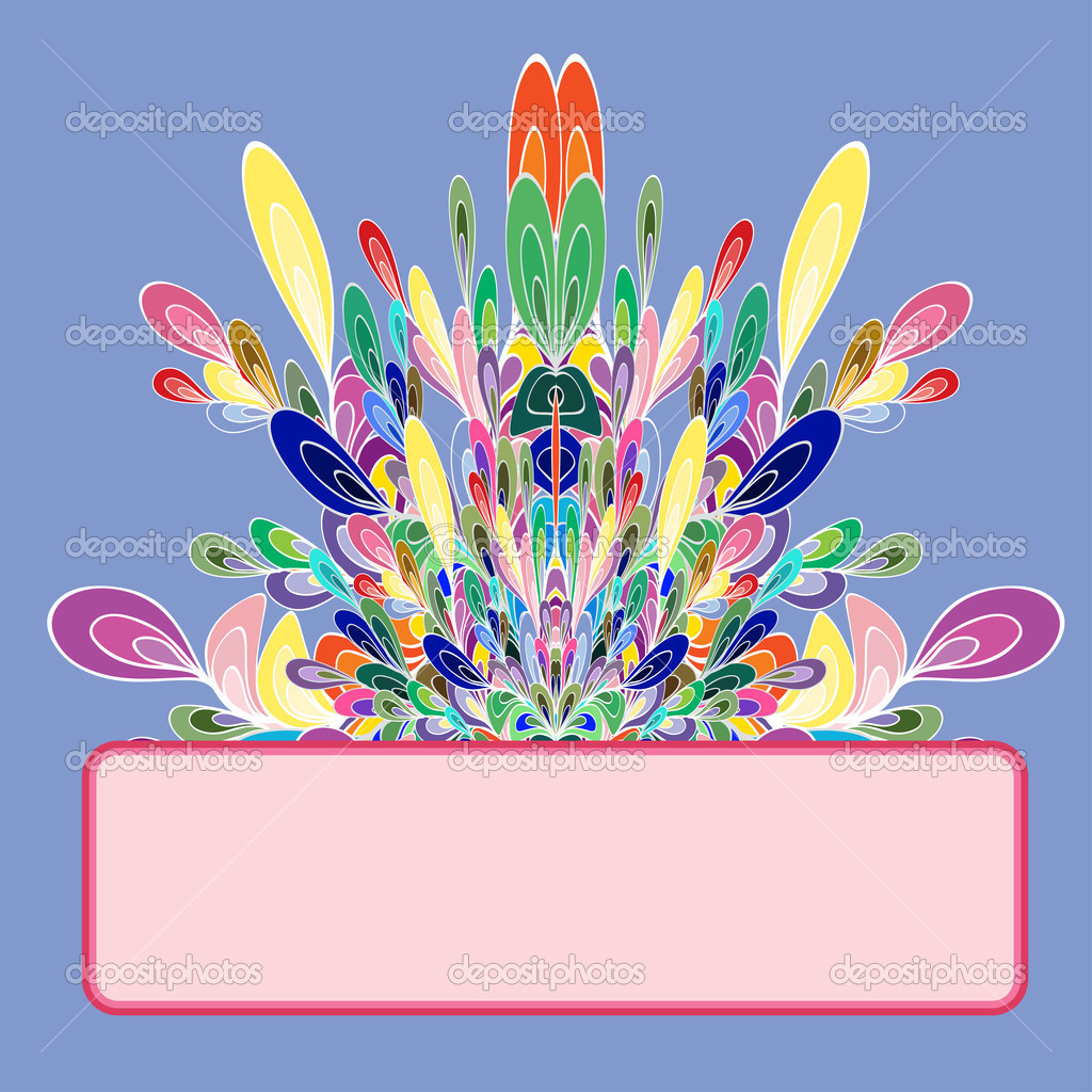 Graphic element. Color lines. Vector illustration.  — Vettoriali Stock  #13674384