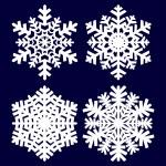 Decorative abstract snowflake. — Stock Vector #13799616