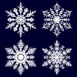 Decorative abstract snowflake. — Stock Vector #14132188