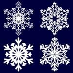 Decorative abstract snowflake. — Stock Vector #14132301