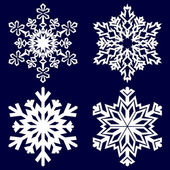 Decorative abstract snowflake. — Stockvektor
