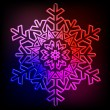 Decorative abstract snowflake. — Stock Vector #14292293