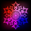 Decorative abstract snowflake. — Stock Vector #14292473