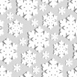 Christmas background. Snowflakes. — Stock Vector #14875349