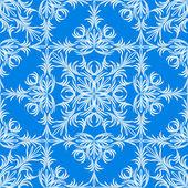 Christmas background. Snowflakes. — Vector de stock
